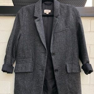 Wilfred salt and pepper wool blazer